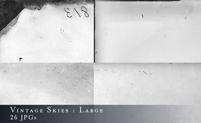 large skies textures vintage