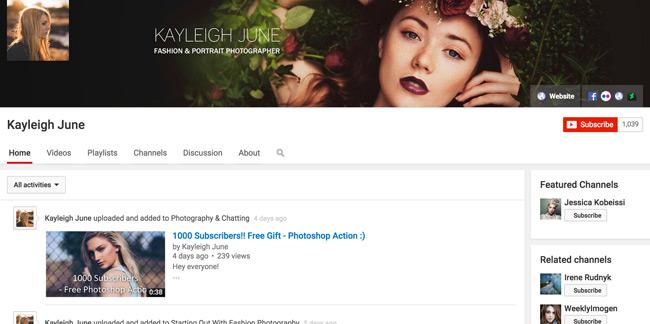 Kayleigh-June-Youtube