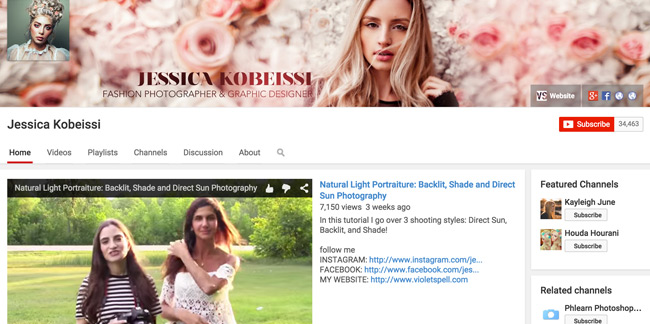Jessica-Kobeissi-Youtube