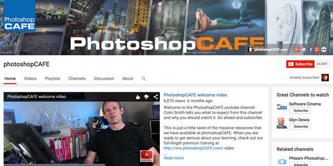Photoshop-CAFE-Youtube