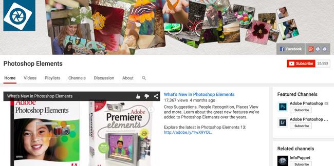 Photoshop-Elements-Youtube