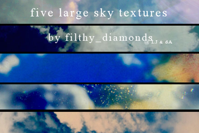 free sky textures for photographers