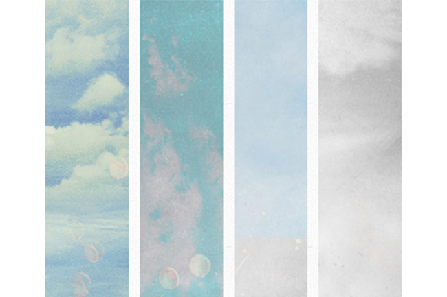 faded sky textures