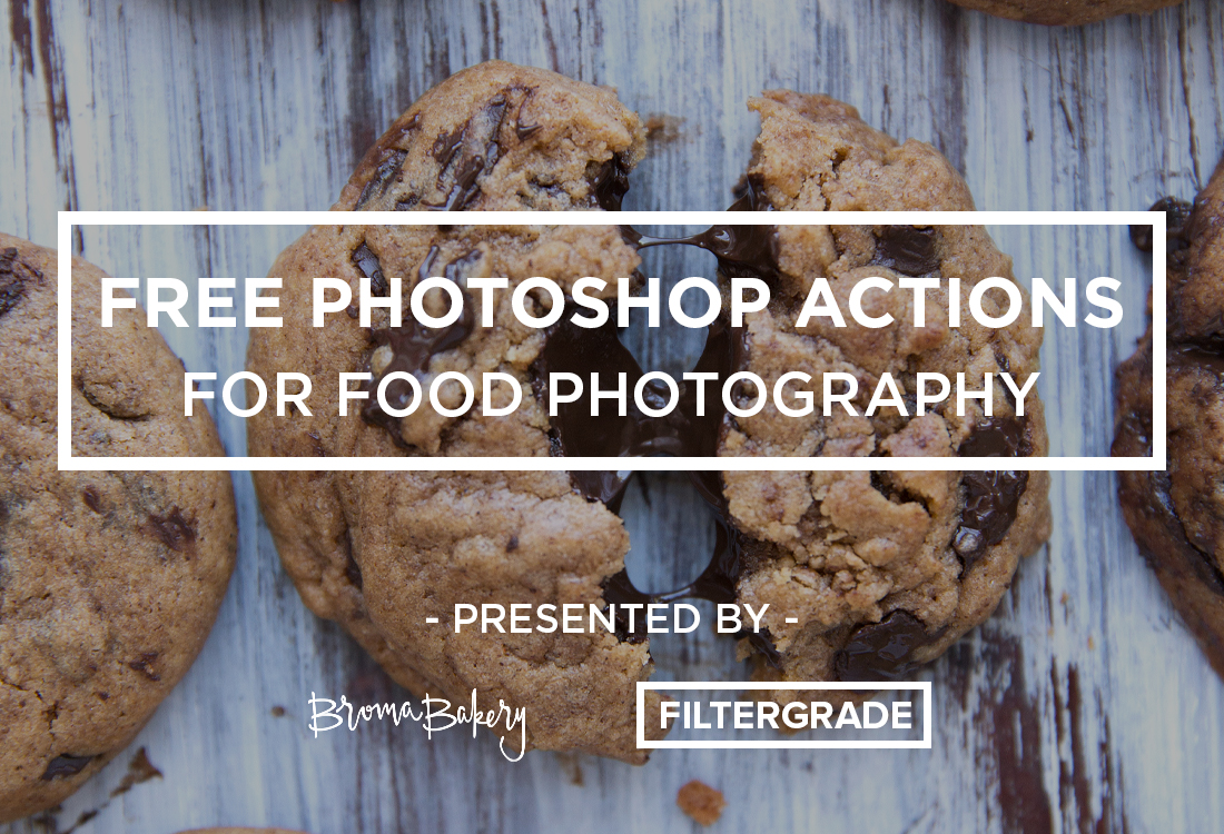 free food photoshop actions