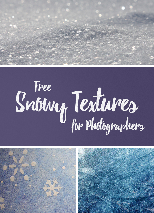 free snowy textures