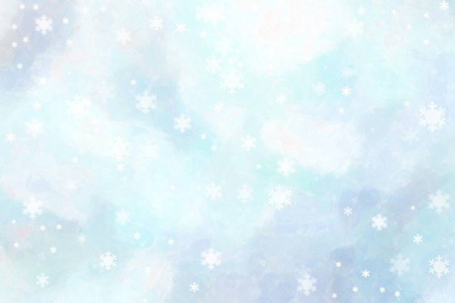 sky and snowflakes texture