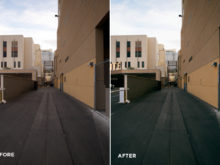 street photoshop actions