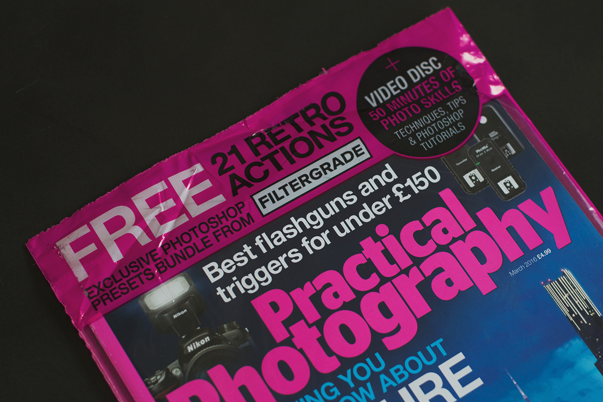 FilterGrade featured in Practical Photography Magazine!