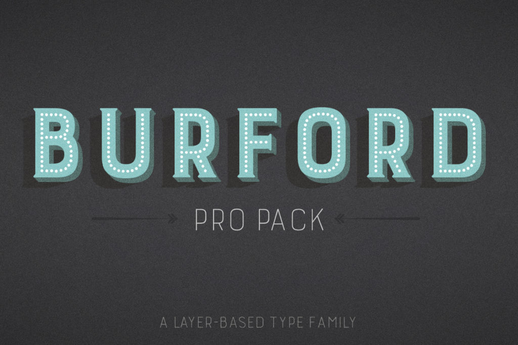 Burford Font Family by Kimmy Design.