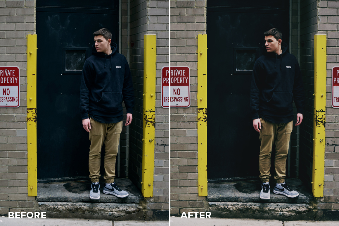 matte photography effect filters