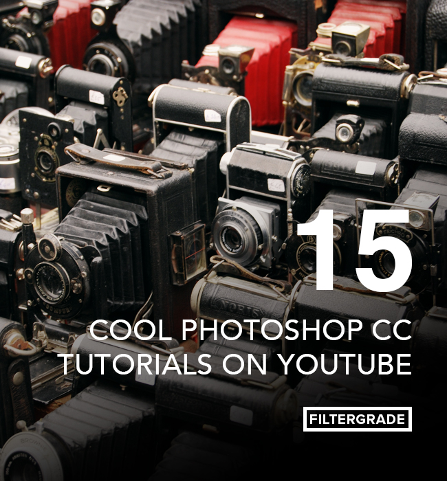 Some cool Photoshop CC Tutorials to help you learn how to edit and manipulate photos.