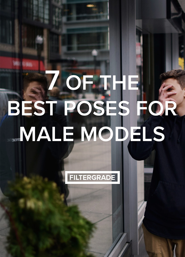 best poses for male models