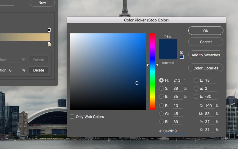 Gradient Map Color Picker #1