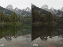 nature outdoor photography presets for lightroom by garin wood
