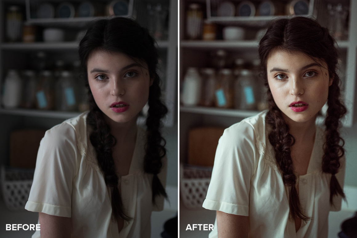 intense lightroom presets by allegra messina