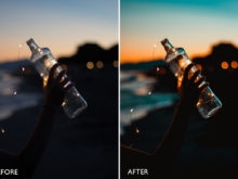 sunset lightroom presets