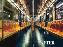 nyc subway lightroom preset
