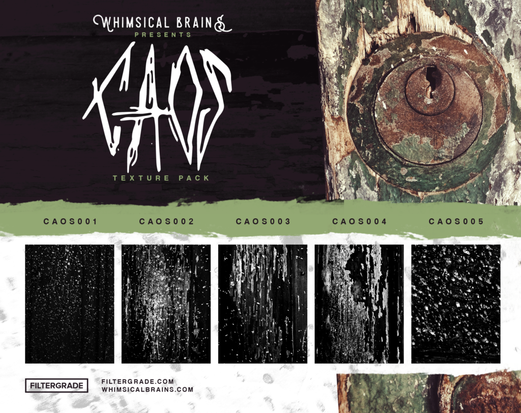 Free grunge textures pack from Adriano Clemense and FilterGrade.