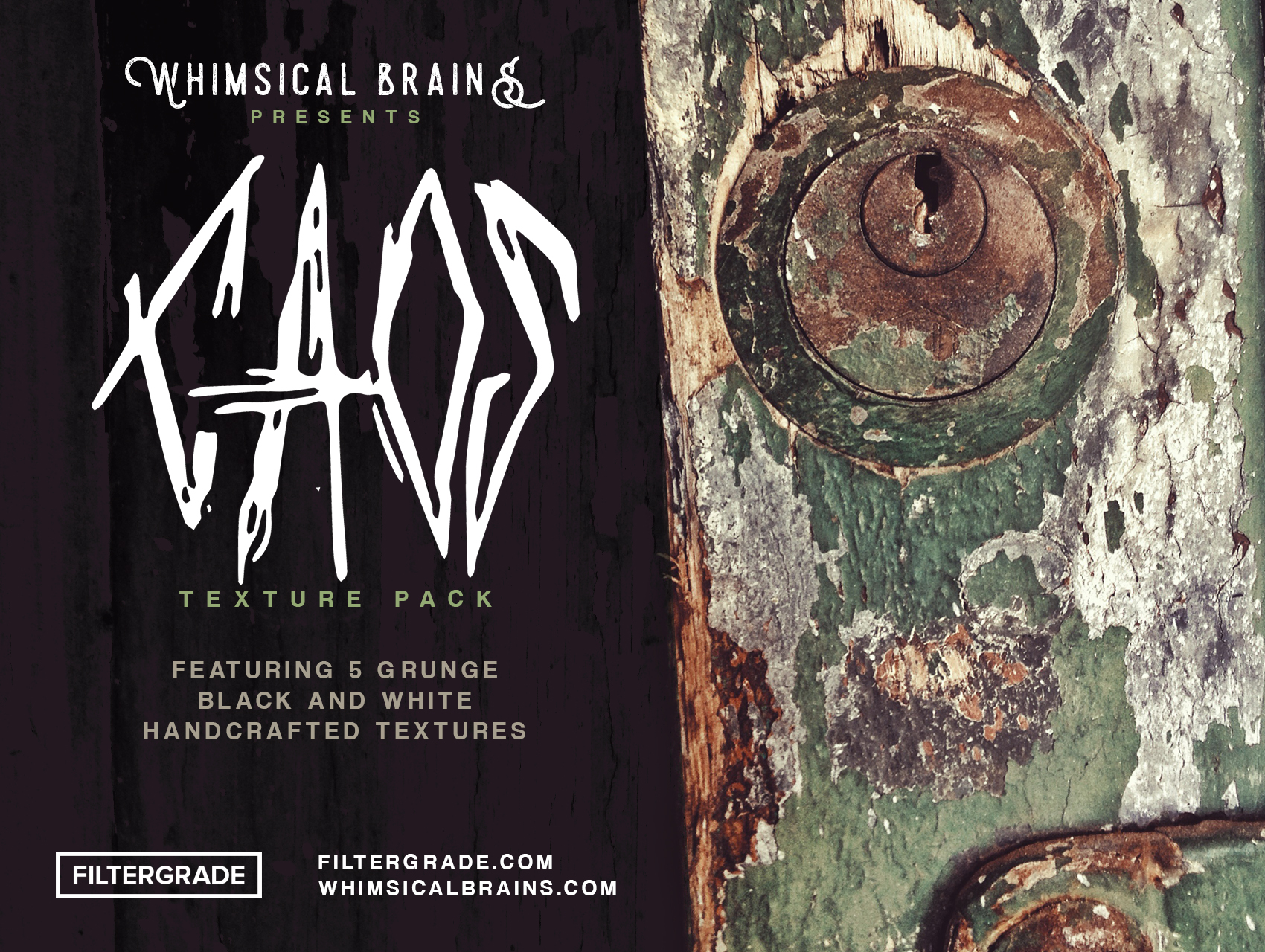 Free Grunge Textures from Adriano Clemense of Whimsical Brains