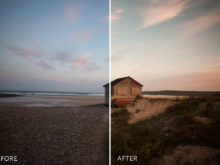 film emulation lightroom presets by amelia le brun
