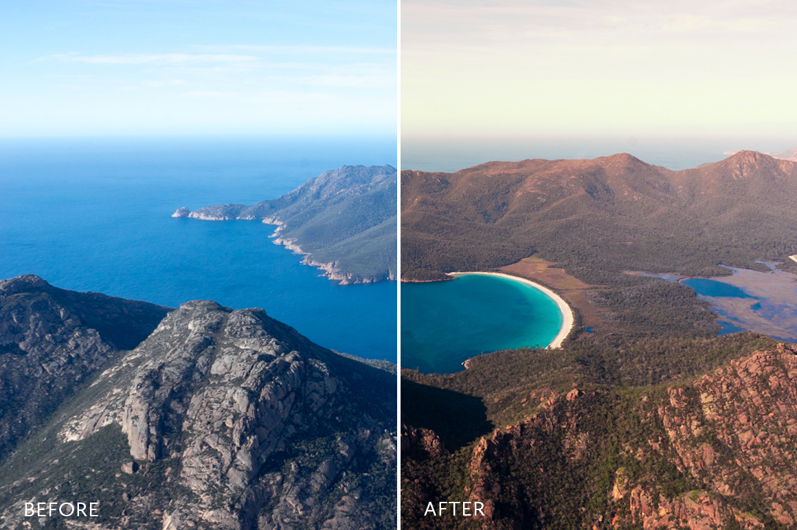 colorful landscape lightroom presets