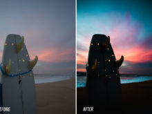 theo ox lightroom presets for sunsets and nature