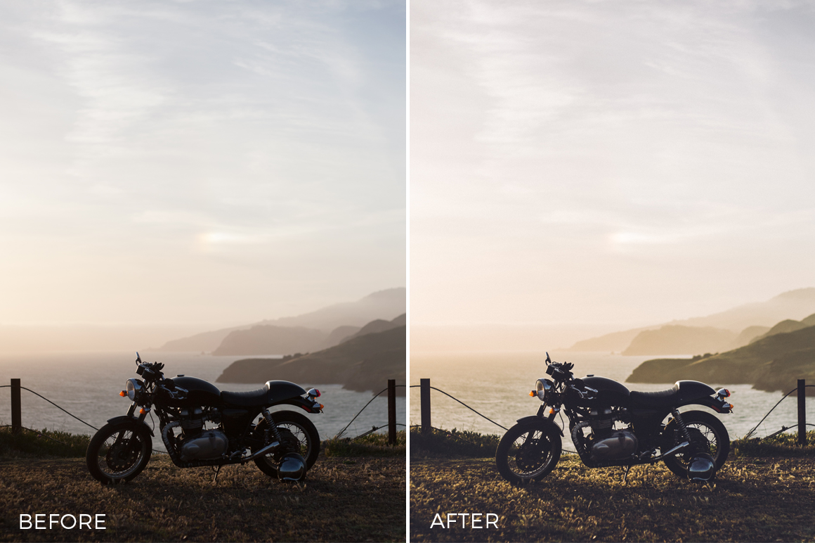 misty lightroom presets