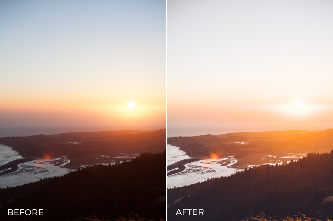 landscape lightroom presets by speedy donahue