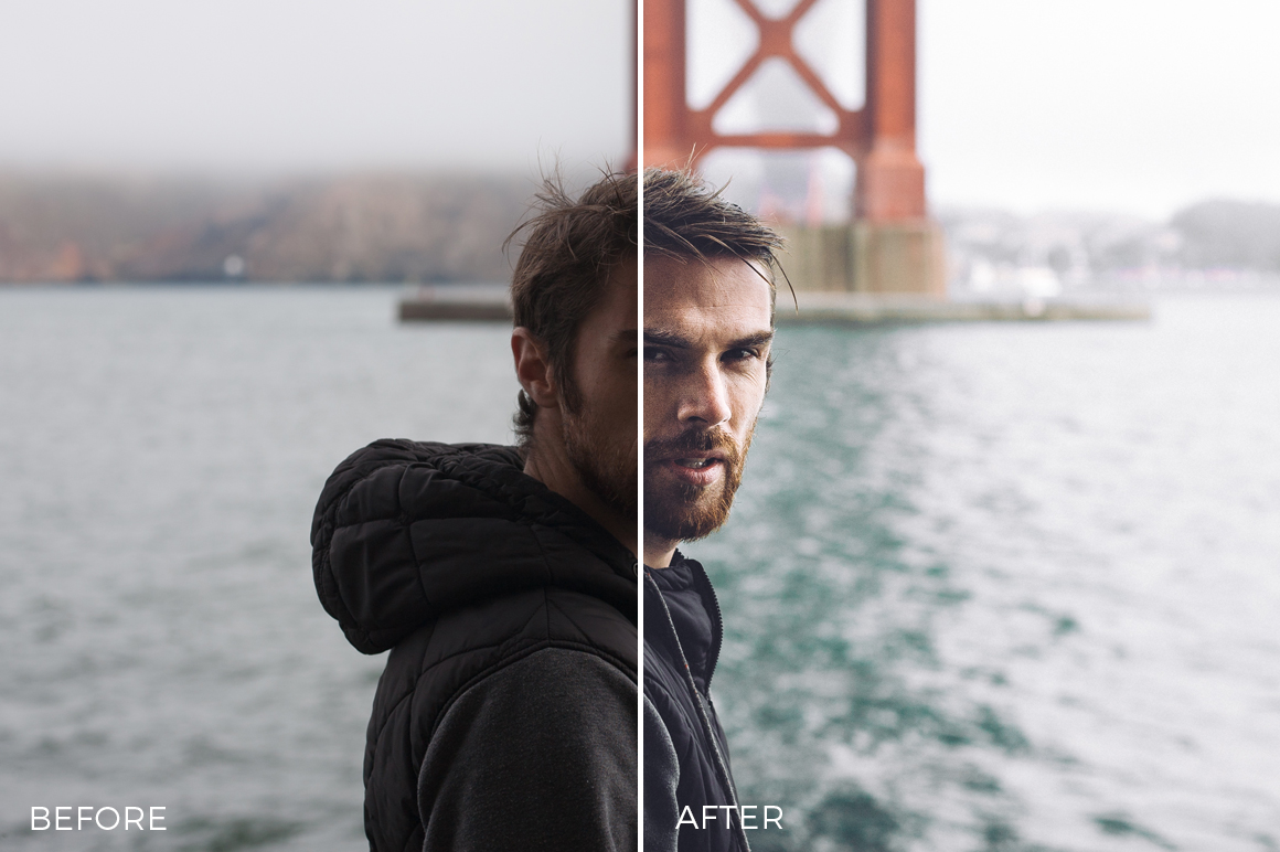 sharp portraits in lightroom