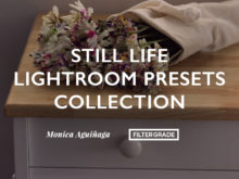 Still Life Lightroom Presets Collection by Monica Aguinaga