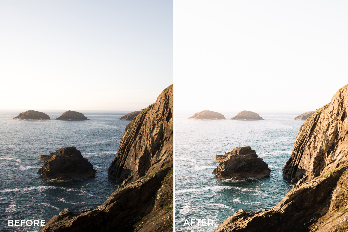 coastal lightroom presets from cooper explores