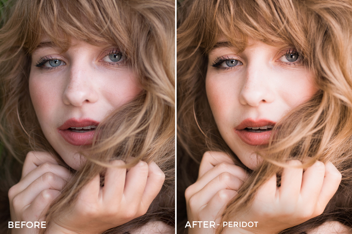 4 Peridot - Clay Moss Opal Lightroom Presets - Clay Moss Fashion Photography - FilterGrade Digital Marketplace