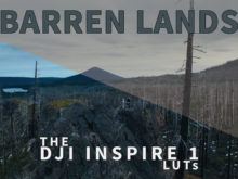barren lands dji drone video luts