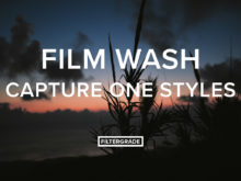 Film Wash Capture One Styles from FilterGrade