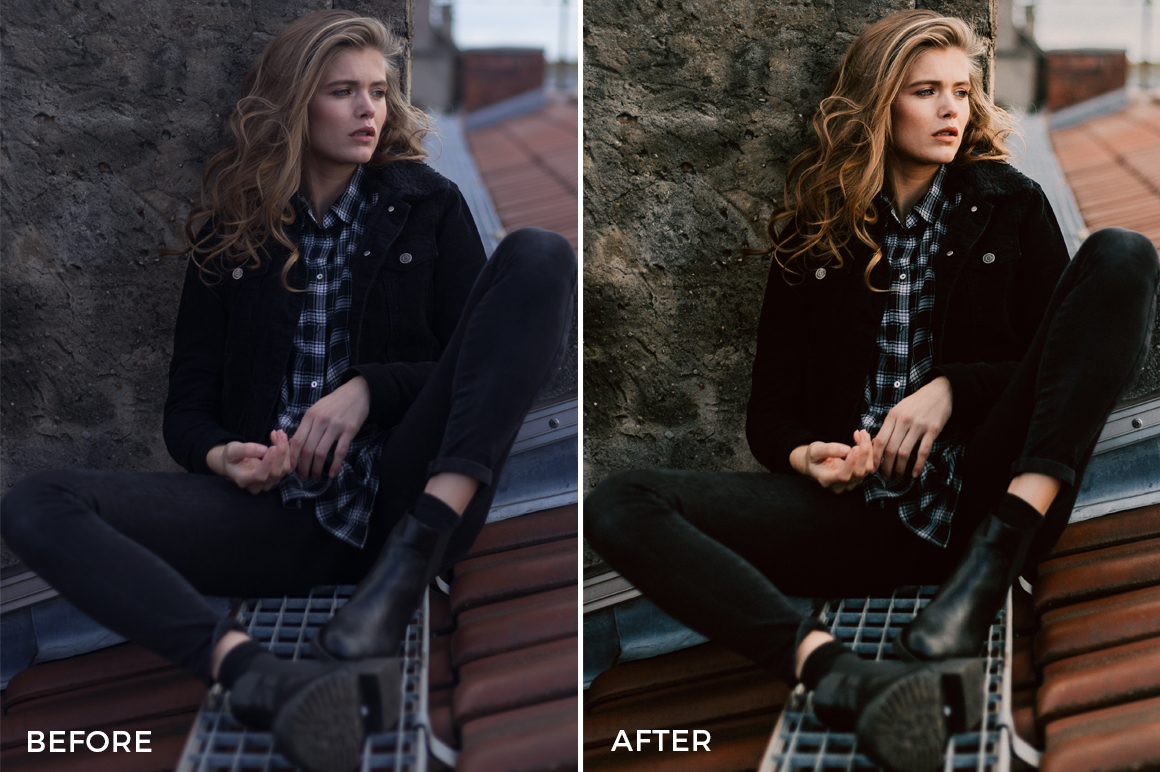 crisp fashion looks for adobe lightroom