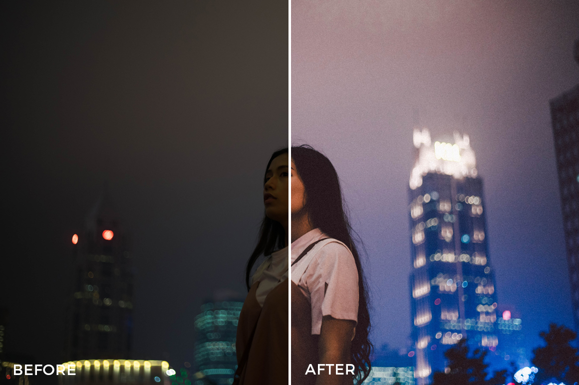 night portrait lightroom presets