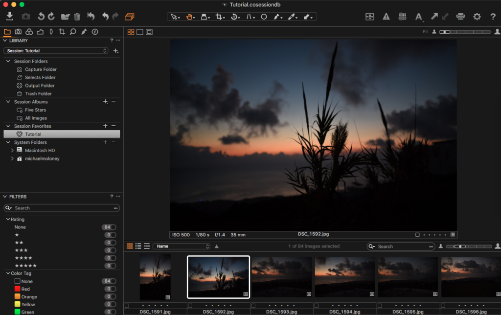 Learn how to install Capture One Styles.
