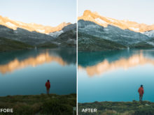 Lightroom Presets for landscape, outdoor, and adventure photographers from Jannik Obenhoff.