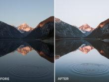 jannik obenhoff lightroom presets for sunrise