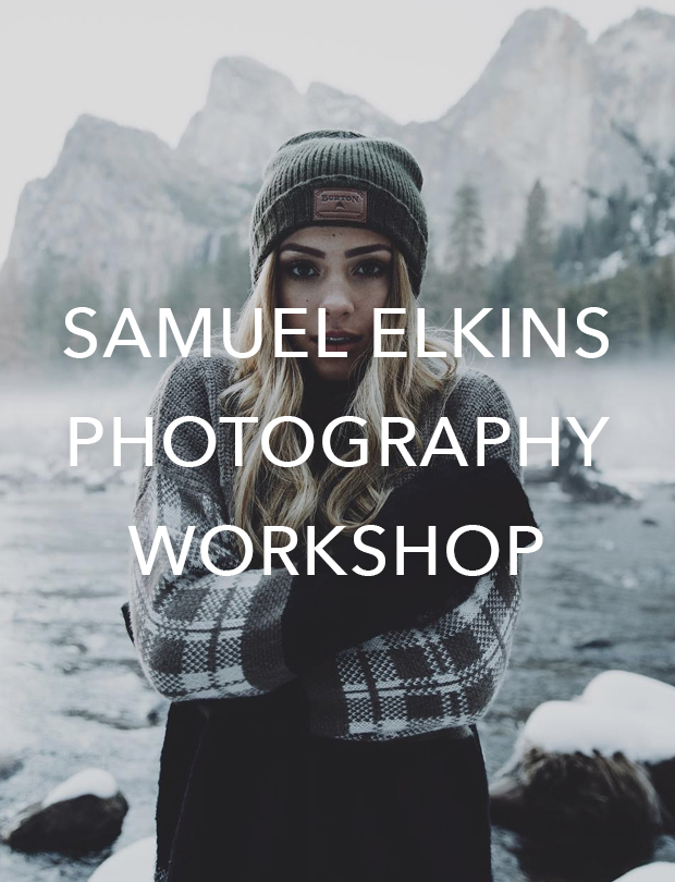 Samuel Elkins Photography Workshop