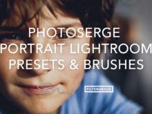 PhotoSerge Portrait Lightroom Presets & Brushes