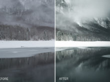 winter lr presets for photographers