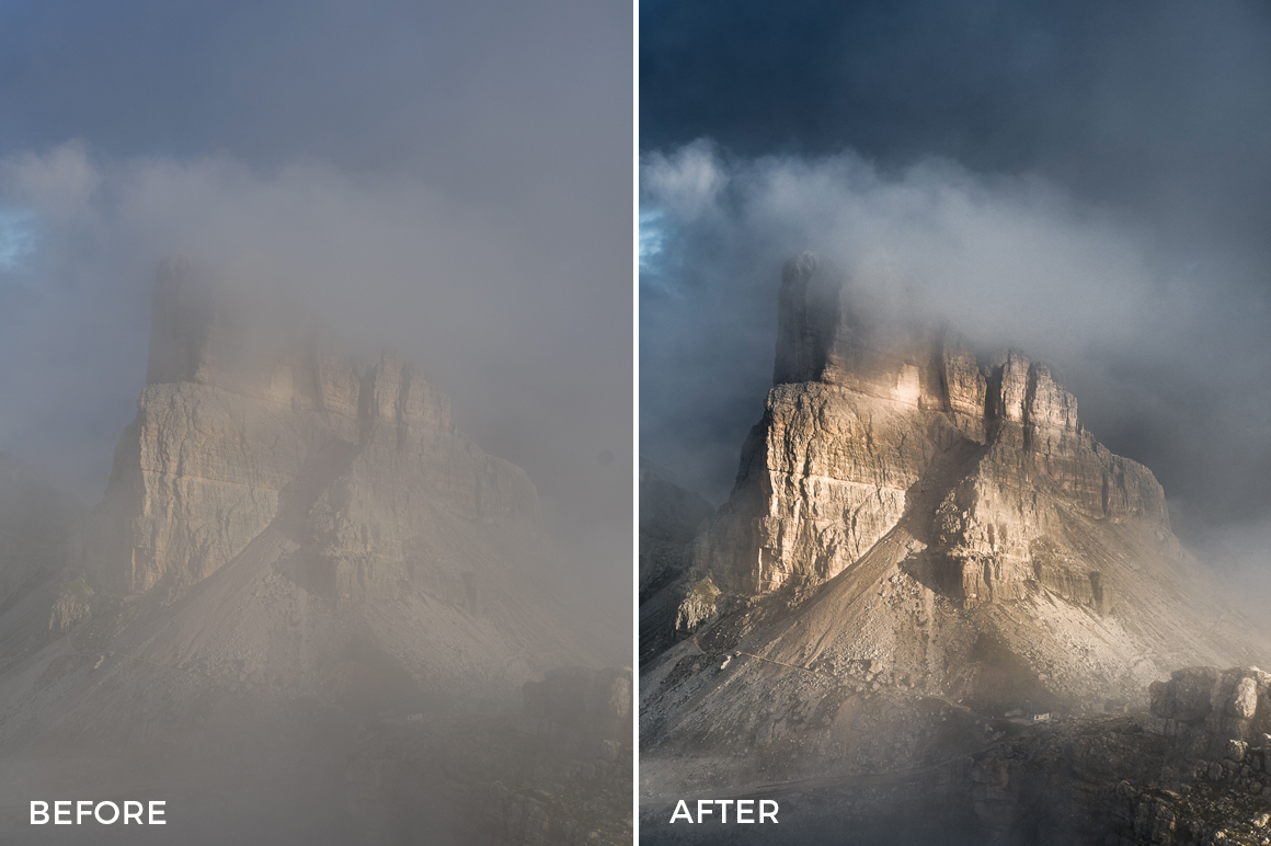 sharp contrast lr presets for adventure photographers