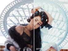 retro film video effects