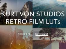 Kurt Von Studios Retro Film LUTs