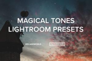 Kellan Hendry Magical Tones Lightroom Presets