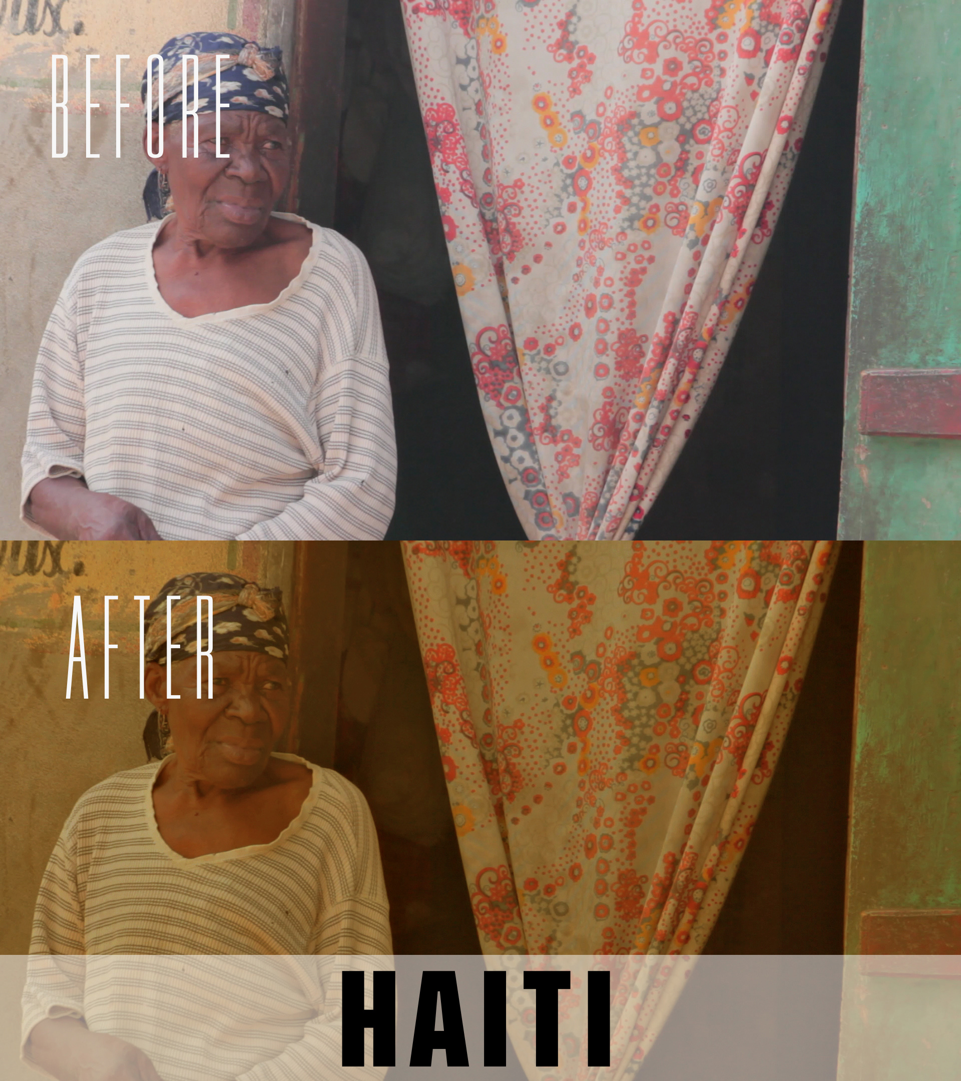 haiti video color grading presets