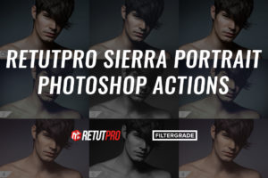 RetutPro Sierra Portrait Photoshop Actions