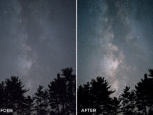 night time photography editing filters
