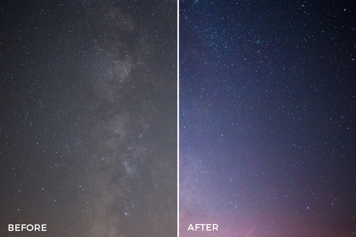 high contrast filters for star photographers